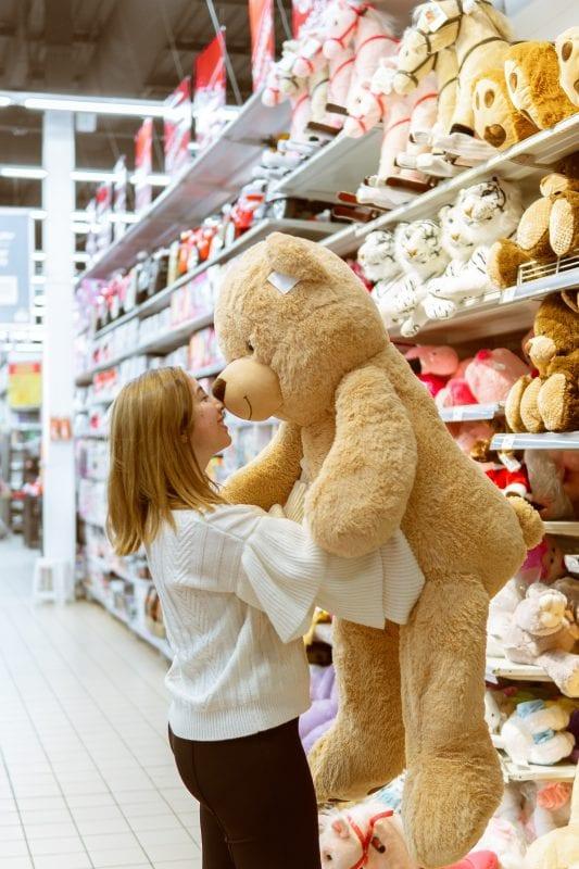 CoWork Teddy Bear Woman Coworking